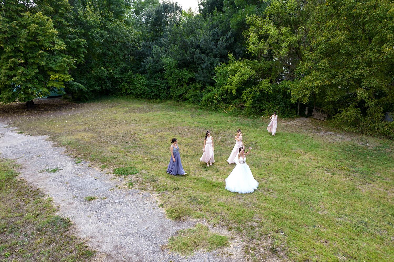 заснемане сватби и събития с дрон